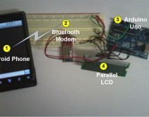 Android talks to Arduino board