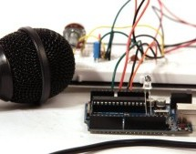 Audio Input using an Arduino Board