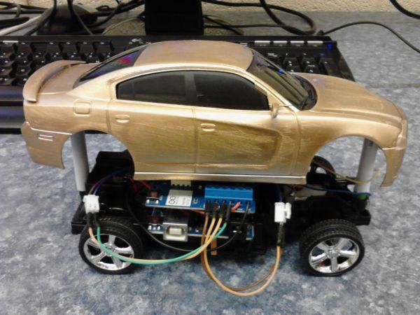 Arduino 7 segment Displays Digital Clock With Charlieplexing LEDs