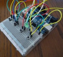 Arduino Combi-button Lock optional Android support