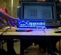 Interactive Logo using an Arduino