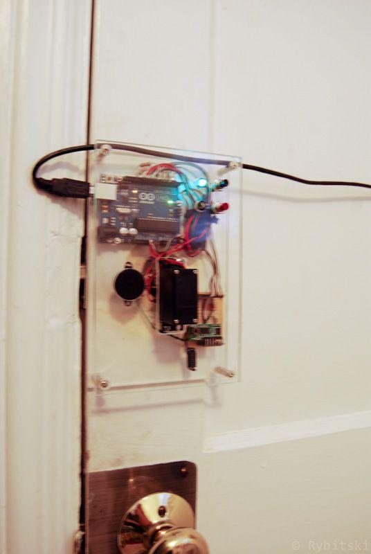 Arduino Keyfob Deadbolt