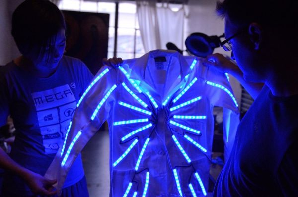 Arduino LED Lab Coat