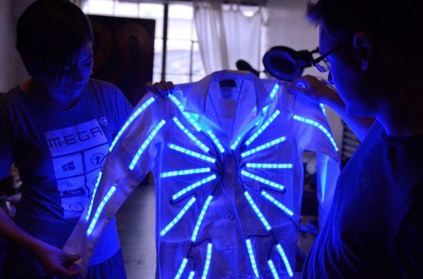 Arduino LED Lab Coat