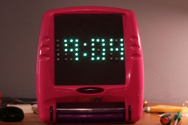 Arduino LED clock