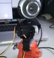 Remote controlled webcam using Arduino