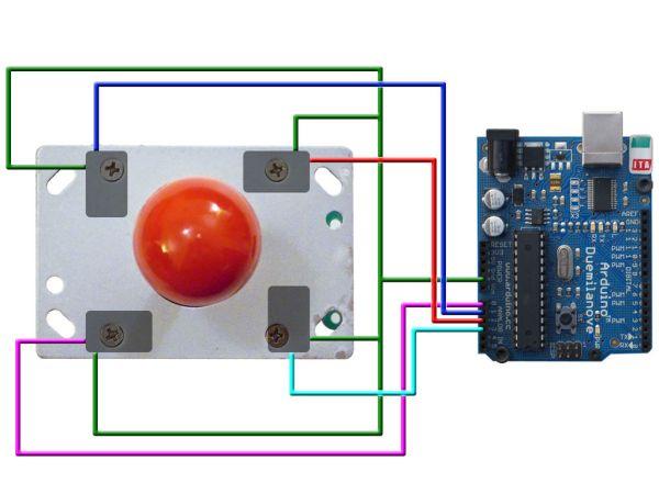 Arduino The Tetris Pumpkin connection