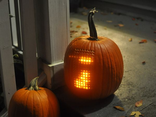 Arduino The Tetris Pumpkin