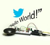 Twitter Enabled Text to Speech using an Arduino