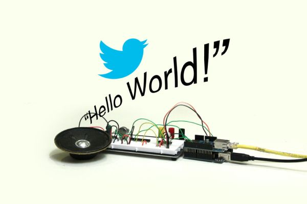 Arduino Twitter Enabled Text to Speech