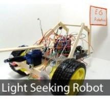 LDR Robot using an Arduino