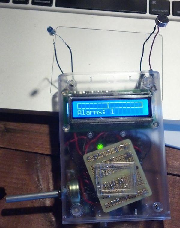 Arduino sound alarm