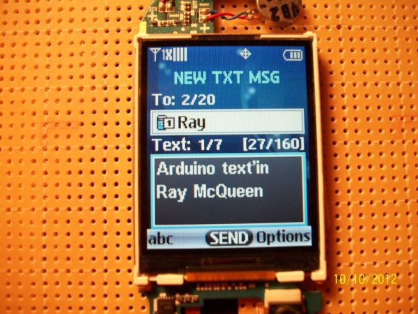 Arduino text'in