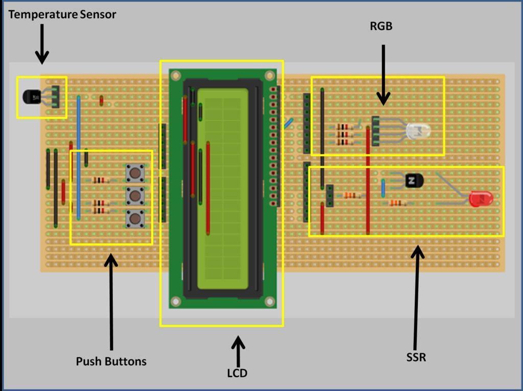 Circuit Arduino Shield