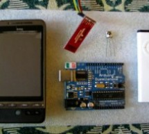 Control Android mobile by an Apple Remote using Arduino