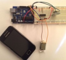 Arduino Control DC Motor via Bluetooth