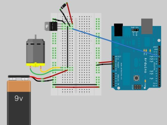 DIY boat with Arduino circuit