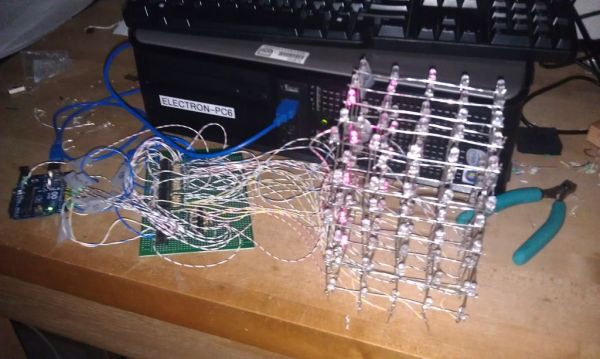Led cube using arduino uno use for projects