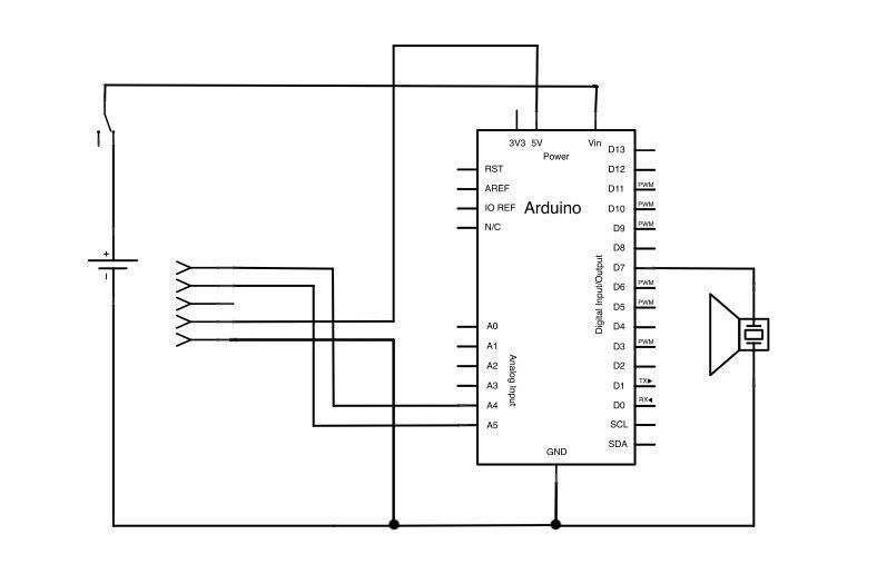 Schematic Arduino Indicator