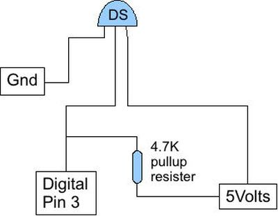 Schematic Arduino Save data of temperature and humidity