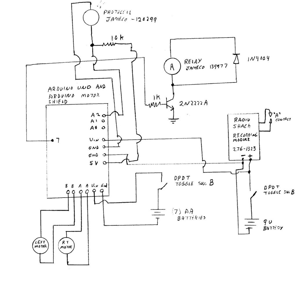 Schematic Arduino Scurity Package