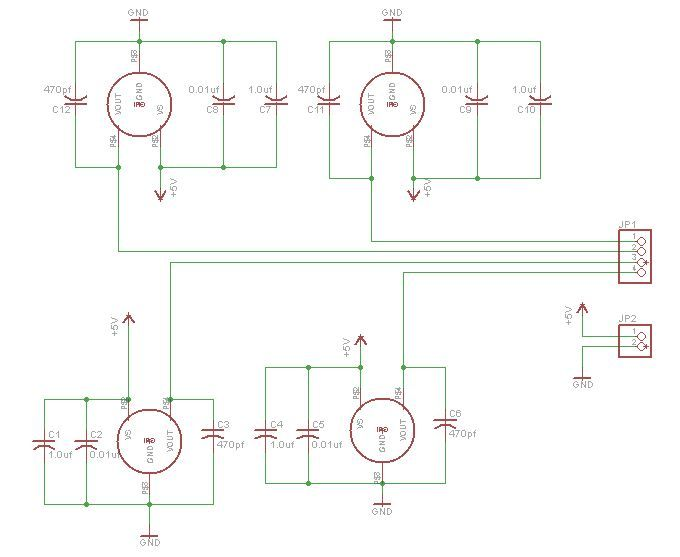 Schematic Arduino Throttle Body Syncronization Shield