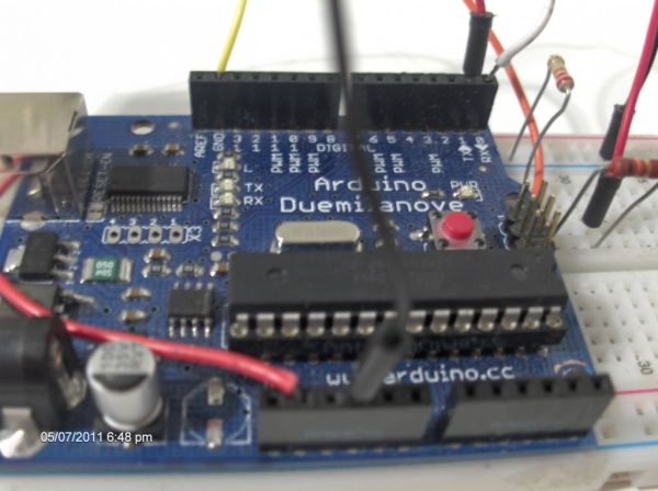 Use your android phone sensors on the arduino