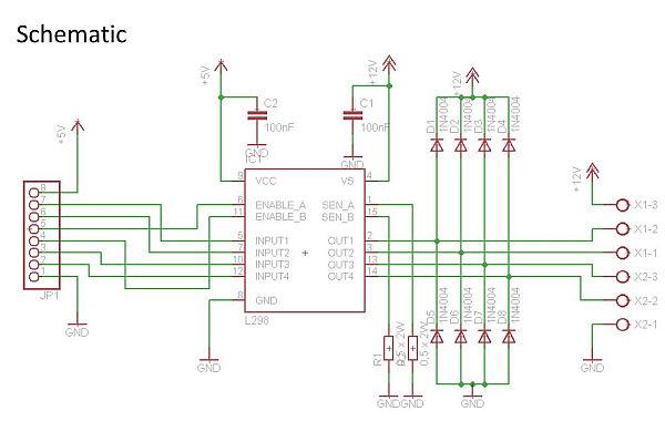 schematic Breakout Board
