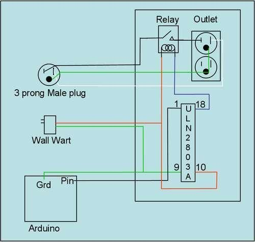 Arduino 110v Power Controller circuit