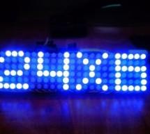 Make a 24X6 LED matrix using an Arduino