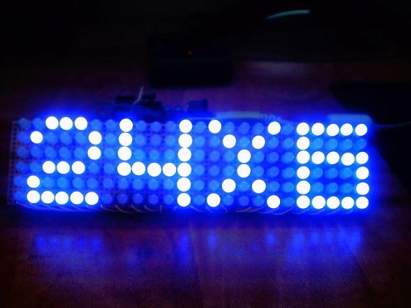 Arduino 24X6 LED matrix