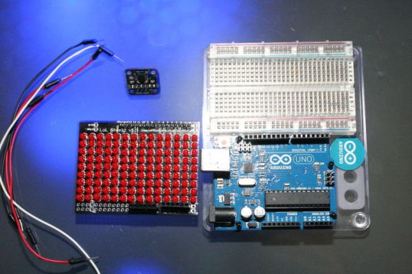 Arduino 2D Level connection