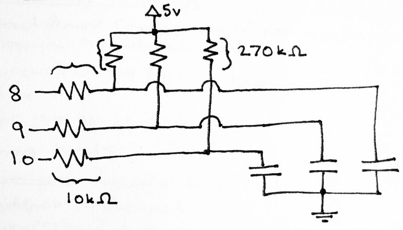 Arduino 3D Controller circuit