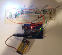 Arduino 4 led madness