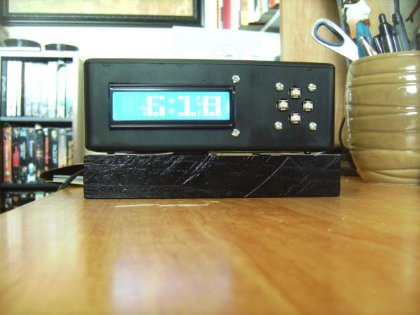 Arduino Alarm Clock with Tetris