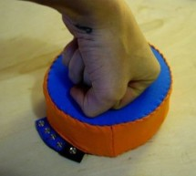 Analog Fabric Joypad using an Arduino