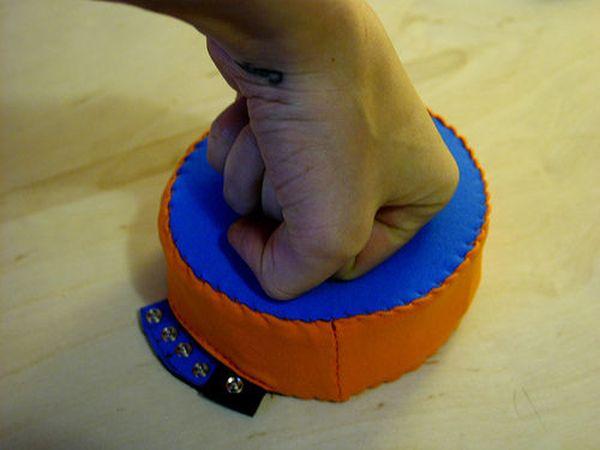 Arduino Analog Fabric Joypad