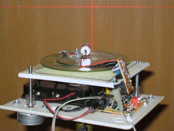 Arduino Auto Leveling Laser Cross