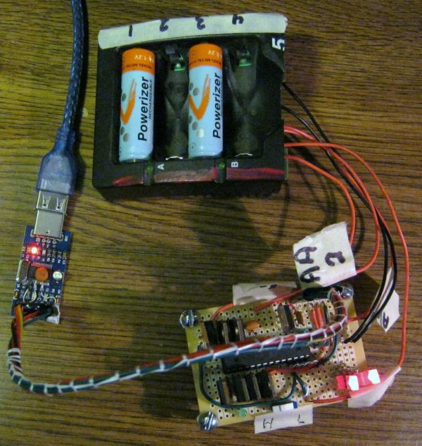 Arduino Battery Reconditioner