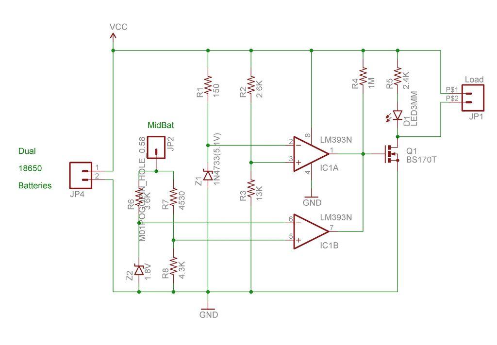 Arduino Battery Schematic