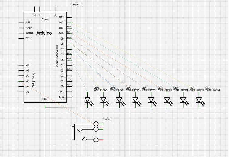Arduino Beat Sync circuit
