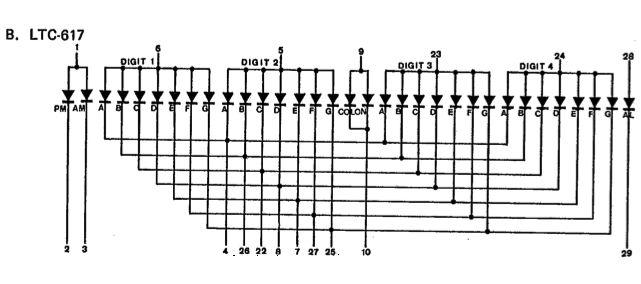 Arduino Clock circuit