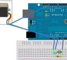 Control Servo with Light using Arduino