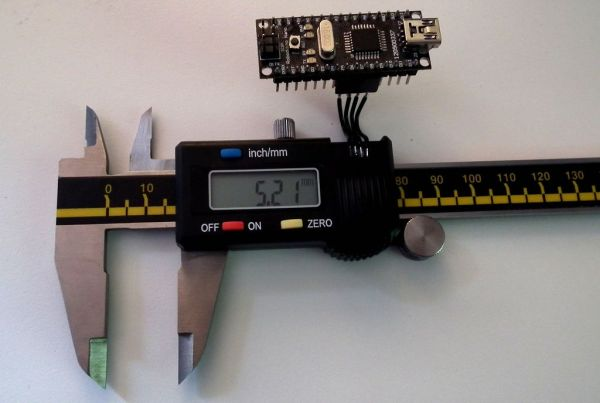 Arduino Digital Calliper