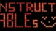 Arduino Controlled Digital Window Sticker