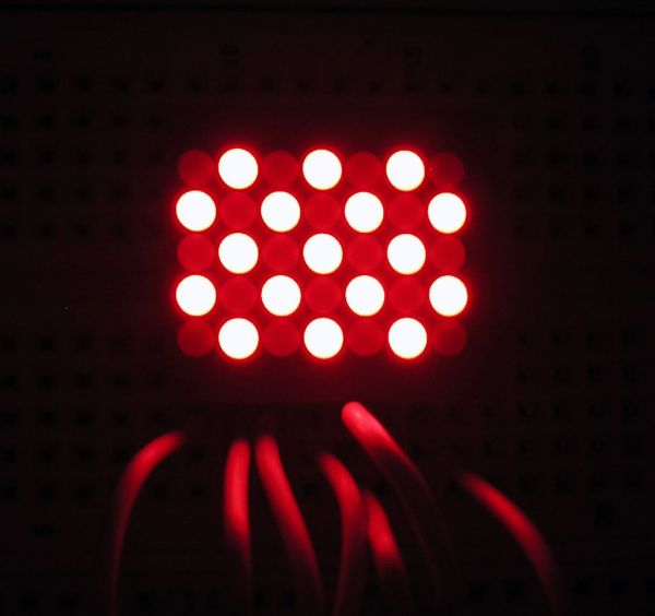 Arduino Dot Matrix LED