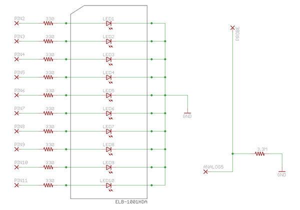 Arduino EMF Detector circuit
