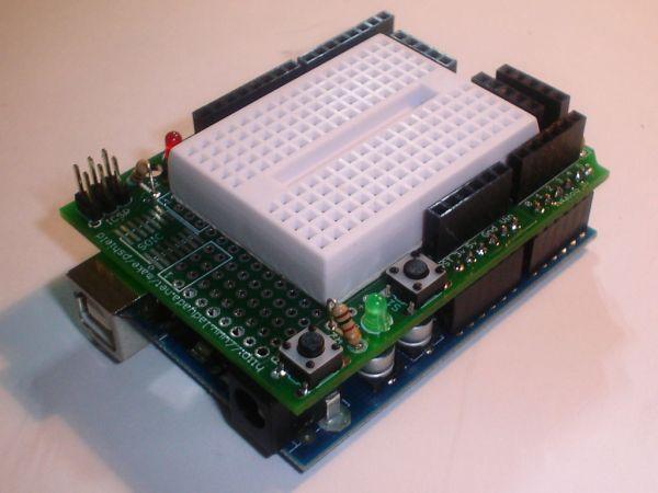 Arduino Electronic Dice circuit