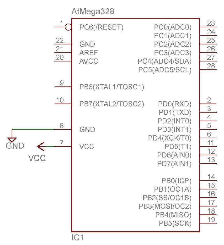 Arduino Electronics circuit