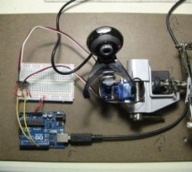 Face detection and tracking with Arduino and OpenCV